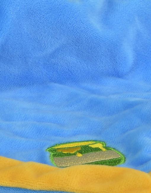 Doudou mouchoir Winnie l'Ourson et son pot de miel détail mouchoir