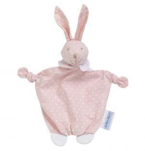 Doudou bébé modèle Bolapin couleur Rose