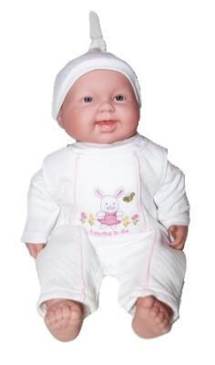 ensemble ourson blanc pour bébé