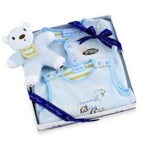 Coffret cadeau Ourson pour bébé garçon