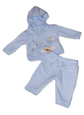 Ensemble de bébé premier prix de couleur bleue
