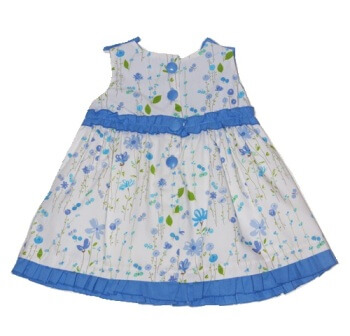 robe d'été pour bébé fille