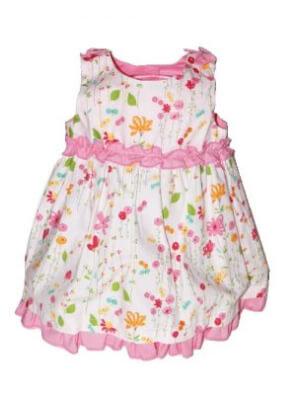 Robe de bébé légère pour l'été modèle Diane