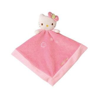 Hochet peluche Hello Kitty