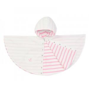 Ciré bébé fille rose et blanc pour l'été