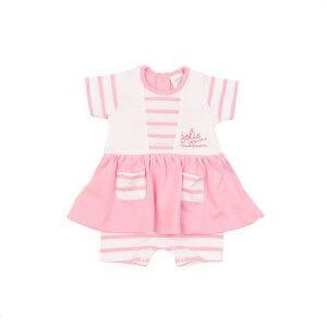 Robe rose pour bébé fille de chez Bulle de BB