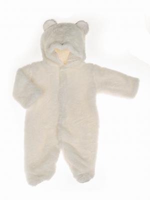 grenouillère pour bébé garçon avec capuche