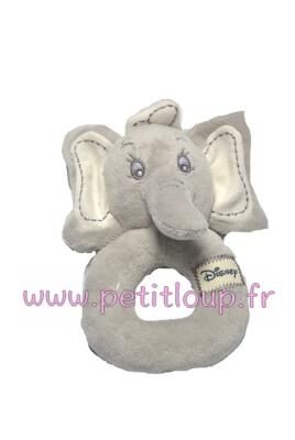 Doudou Hochet Dumbo le petit éléphant de DISNEY