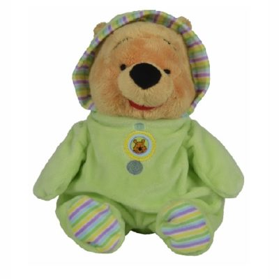 Peluche doudou DISNEY Winnie the pooh vert
