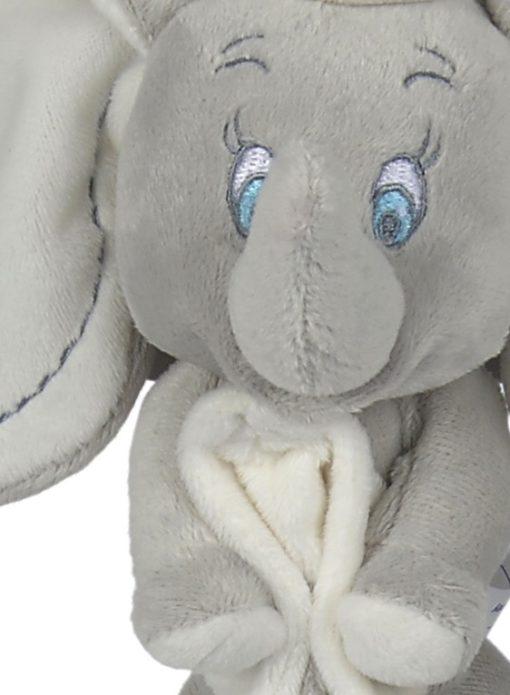 Doudou mouchoir Disney DUMBO l'éléphant détail tête