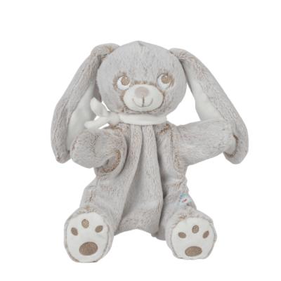 Doudou chiffon Lapin Louis marionnette pour bébé