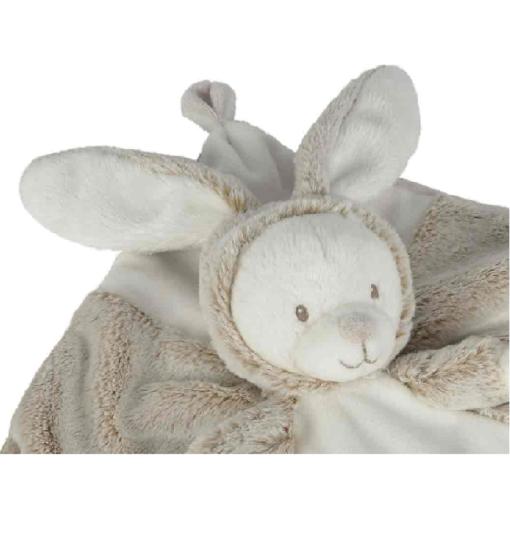 Doudou mouchoir lapin LALINE