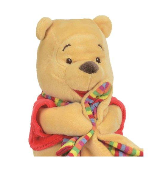 Doudou ourson en peluche Winnie the pooh