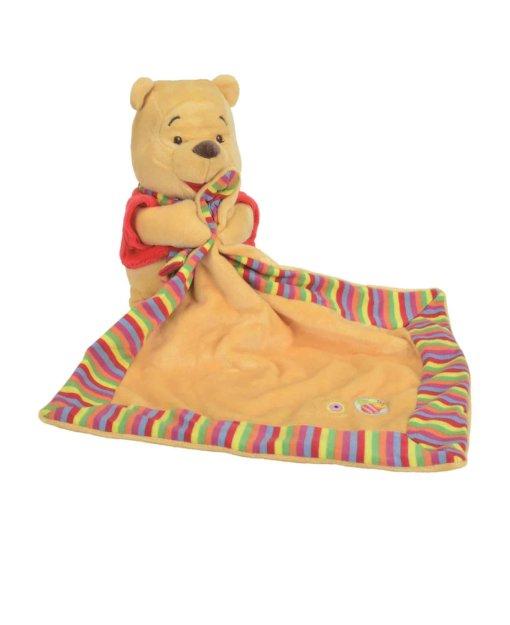 Doudou ourson en peluche Winnie the pooh de disney vendu par 2
