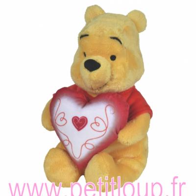 Doudou Winnie l'Ourson love