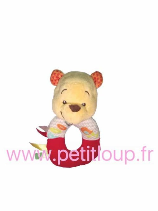 Hochet Winnie l'Ourson de DISNEY